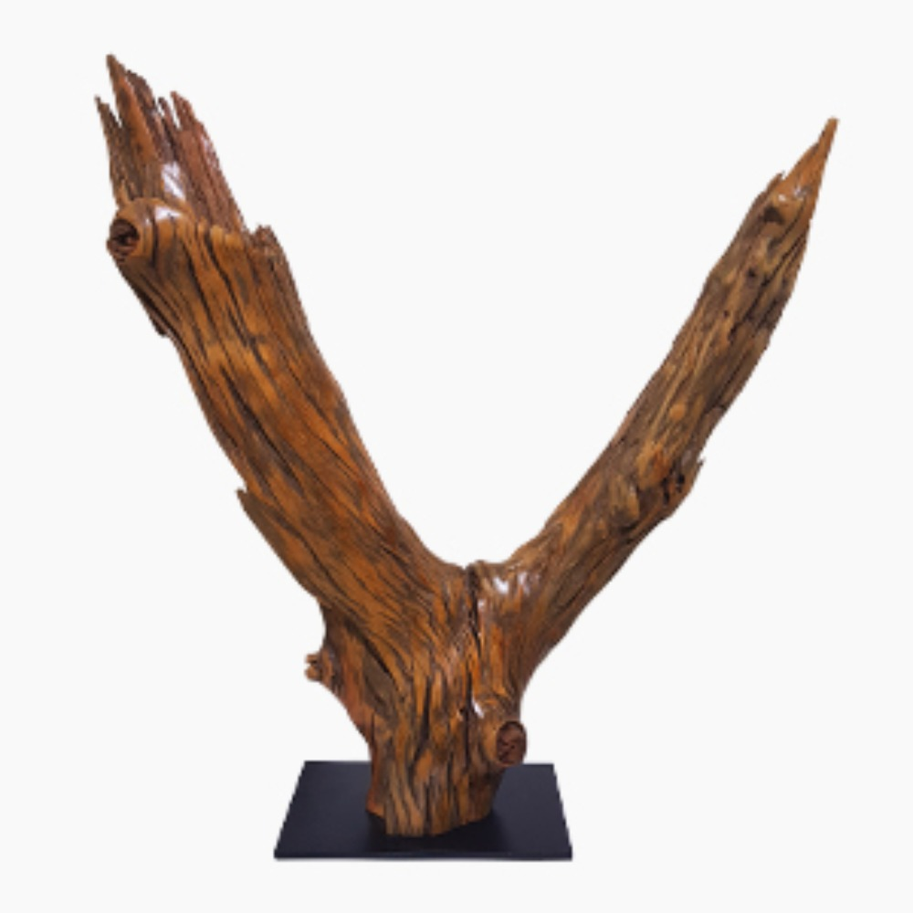 Double Branch Sculpture